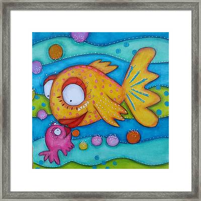 Love Is In The Sea Framed Print