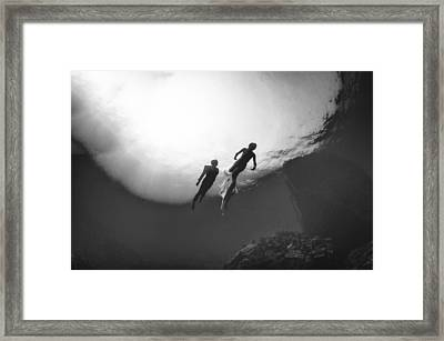 Love Is In The Water 2 Framed Print by Adolfo Maciocco