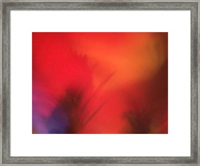 Love Is Inthe Air 2 Framed Print by M Stuart