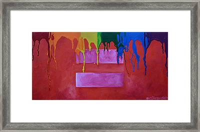 Love Is Love Framed Print by Patti Schermerhorn