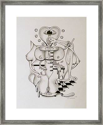 Love Junkie  Framed Print by Eric Rabbers