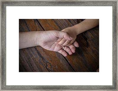 Love Keep Us Alive Framed Print