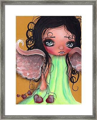 Love Keeper Framed Print by  Abril Andrade Griffith