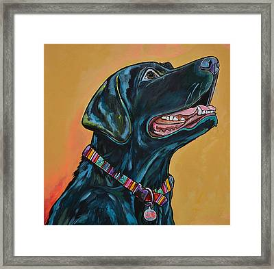 Framed Print featuring the painting Love Lab by Patti Schermerhorn