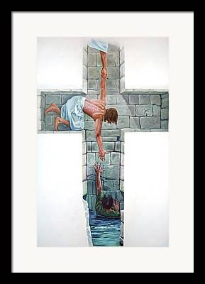 Religious Artist Framed Prints