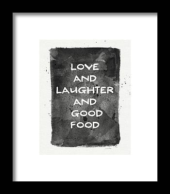 Laughter Framed Prints