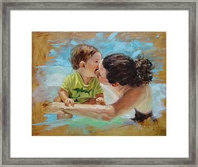 Love Framed Print by Laura Lee Zanghetti