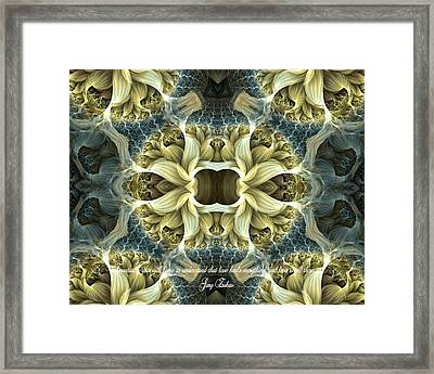Love Framed Print by Lea Wiggins