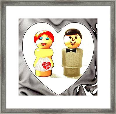 Love Lucy Framed Print