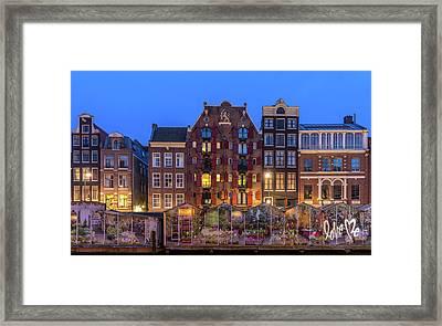 Love Me, Amsterdam Framed Print by Reinier Snijders
