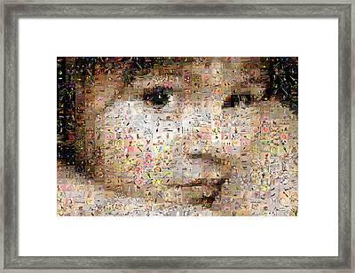 Love Me Framed Print by Gilberto Viciedo