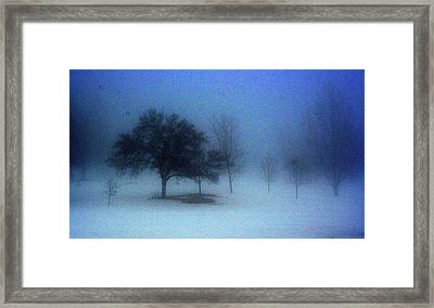 Love Me In The Mist Framed Print