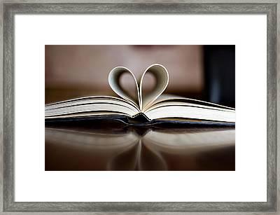 Love Me Framed Print by Malania Hammer
