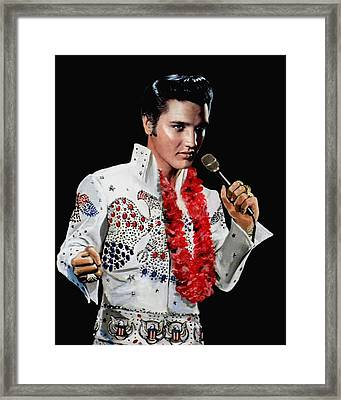 Love Me Tender Framed Print by Ron Chambers