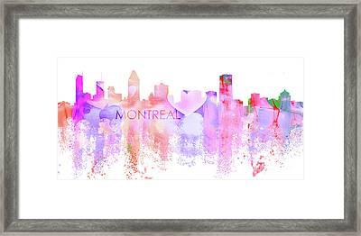 Love Montreal Framed Print by J Biggadike