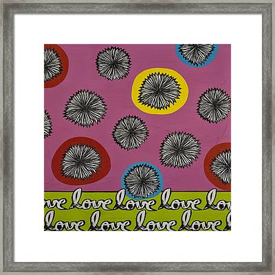 Love Multiplied Framed Print