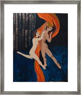 Love N Dance Framed Print