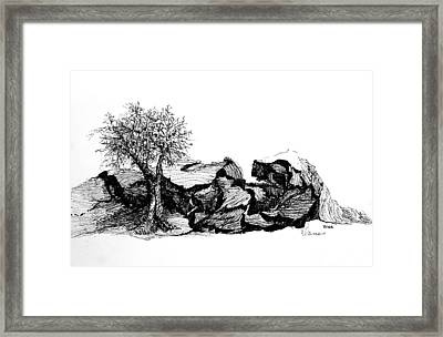 Love Nest  -  Dedicated Framed Print