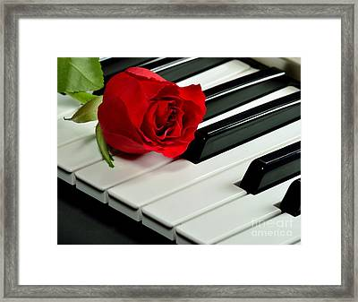 Love Notes Framed Print by D S Images