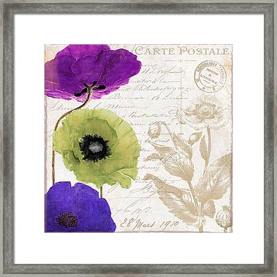 Love Notes II Framed Print