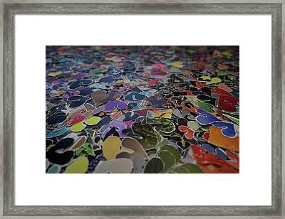 Love Ocean Framed Print
