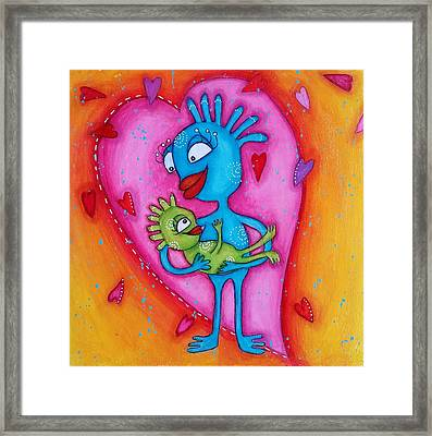 Love Of A Mother Framed Print
