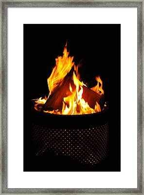 Love Of Fire Framed Print