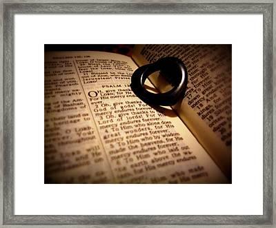 love of God Framed Print