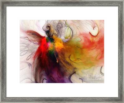 Love Of Liberty Framed Print by Karin Kuhlmann