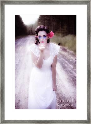 Love Of Magic Kisses Framed Print