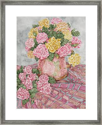 Love Of Roses Framed Print
