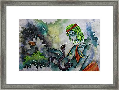 Love Of Shiva Framed Print