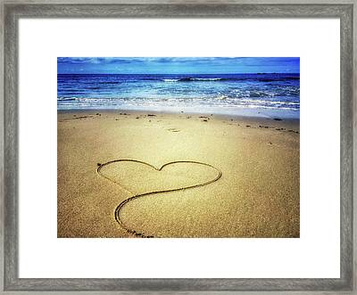 Love Of The Ocean Framed Print
