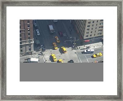 Love On A Street Corner Framed Print
