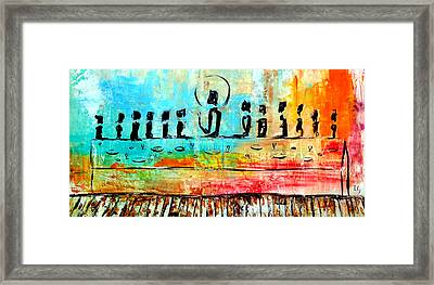 Love One Another IIl Framed Print by Ivan Guaderrama