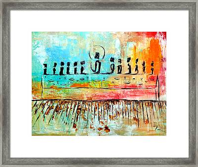 Love One Another Framed Print by Ivan  Guaderrama