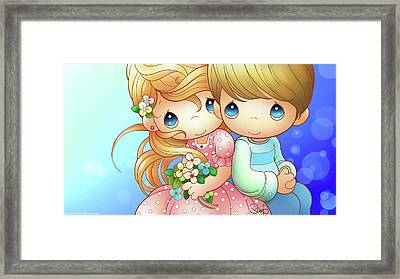 Love One Another Framed Print by Precious Moments