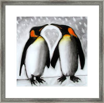Love Framed Print by Paul Powis