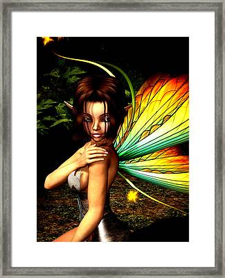 Love Pixie 1 Framed Print by Alexander Butler