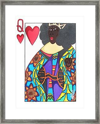 Love Queen Framed Print