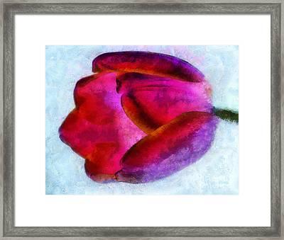 Love Remains Framed Print by Krissy Katsimbras