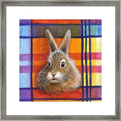 Framed Print featuring the painting Love by Retta Stephenson