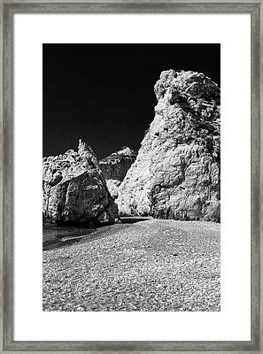 Aphroditie's Love Rocks Framed Print by John Rizzuto