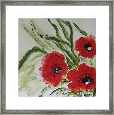 Love Run Deep Framed Print by Christiane Schulze Art And Photography