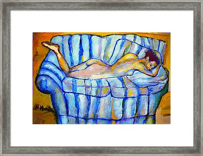Love Seat Framed Print by Noredin Morgan