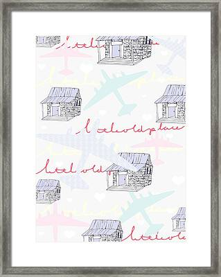 Love Shack Framed Print by Beth Travers