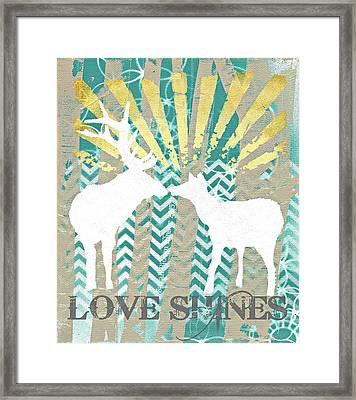 Love Shines Framed Print by Sarah  Bloom Kinser
