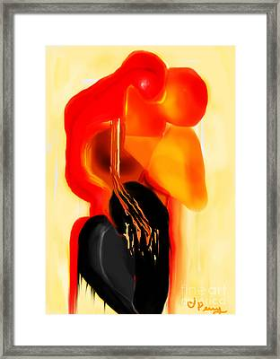 Love Slipping Away Framed Print