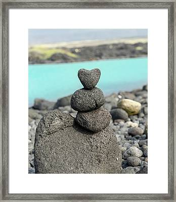 Rock My World Framed Print