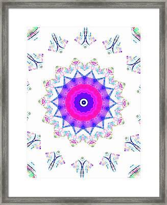 Love Star Framed Print by Ritchard Mifsud